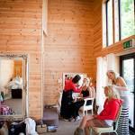 Behind the scenes vintage wedding shoot Styal Lodge 10