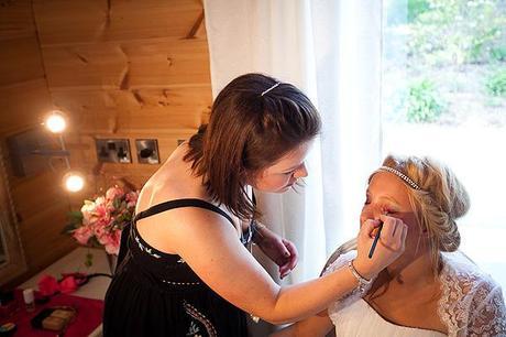 Behind the scenes wedding blog photo shoot Styal Lodge Jonny Draper (3)