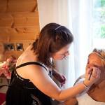 Behind the scenes vintage wedding shoot Styal Lodge 08
