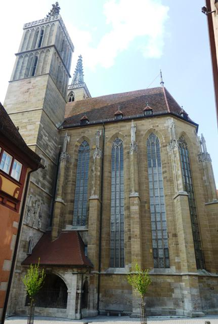 rothenburg photos st jacobs church