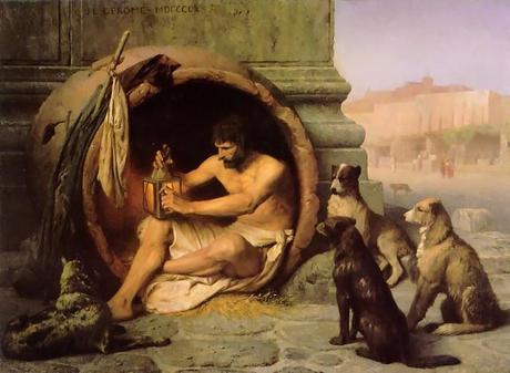 Diogenes by Jean Léone Gérôme