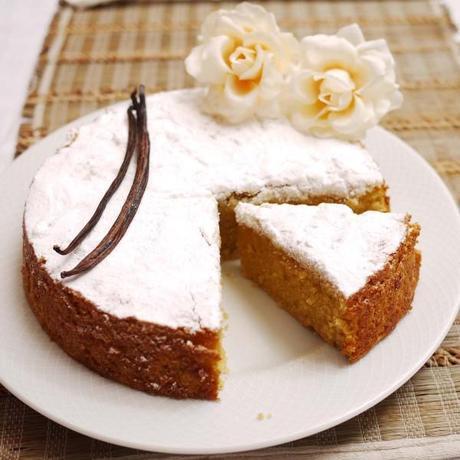 Very Vanilla One Bowl Cake