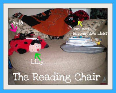 Why I Love Wednesdays...My Reading Chair