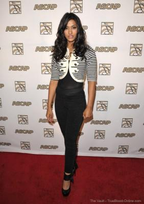 Janina Gavanker attends the ASCAP Pop Music Awards