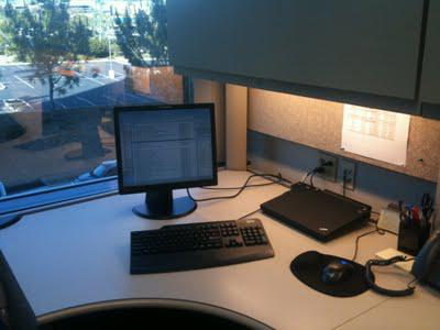 My New Uncluttered, Organized & Efficient Office