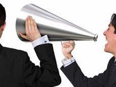 Business Communication Just Talking Loud