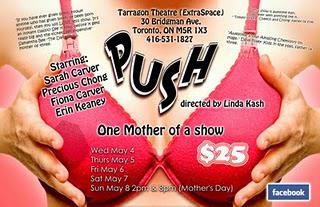 PUSH...One Mother of a Show: Guest Blogger Erin Keaney