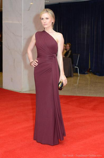 Photos: Anna Paquin and Stephen Moyer at the WHCD