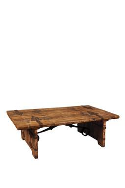 Like reclaimed wood furniture? Than you'll love this...