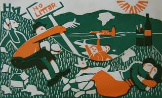 Say something, Edith - Little-known linocuts of Claude Flight and Edith Lawrence