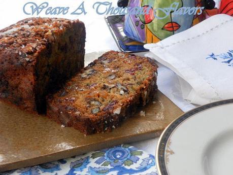 Fruit & Nut Palooza Zucchini Cake -04