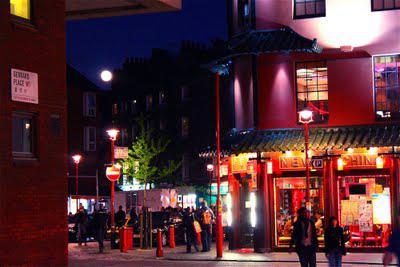 Sundown At Blackfriars, Moonrise Over Chinatown