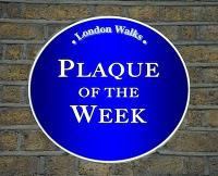 Plaque of the Week No's.84 – 88