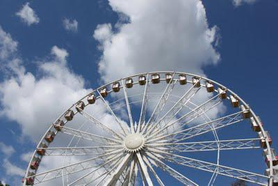 In and Around London... (And On and From) The Hyde Park Ferris Wheel