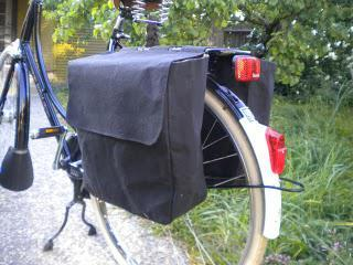 Guest Post - Hand-made roll-up panniers by Libby Bowles