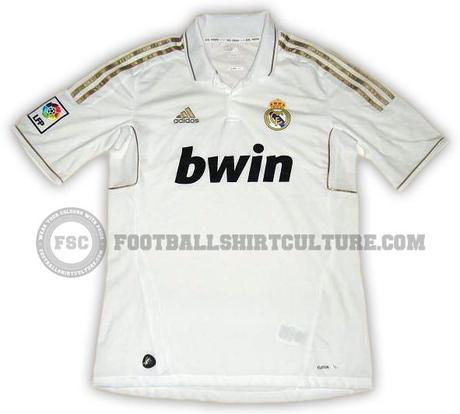 Real Madrid 2011/12 Adidas Home Shirt Leaked