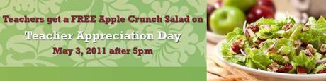 free apple crunch salad cosi