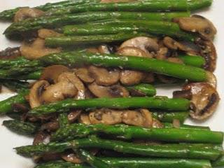 Asparagus and Mushrooms Recipe