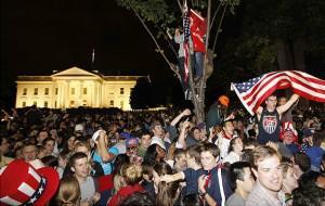 Fans Celebrate death of Osama Bin Laden
