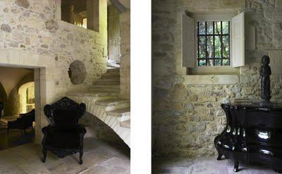 Modern interiors in ancient homes