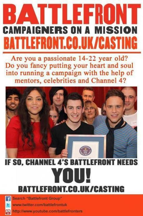 Casting Call: Channel 4 Presents Battlefront