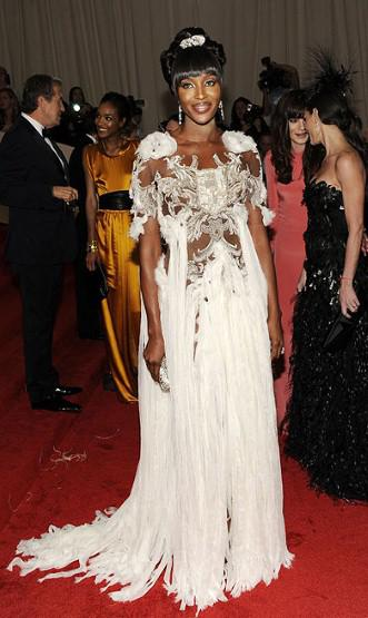 Naomi Campbell 2011 Met Ball
