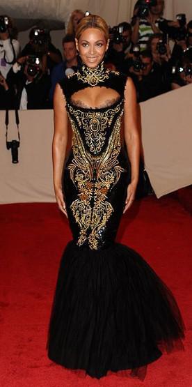 Beyonce at 2011 Met Gala