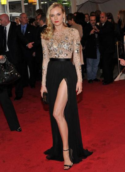 Diane Kruger at 2011 Met Ball