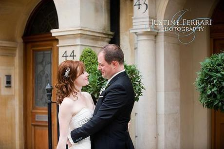 A cool, British, London themed wedding day
