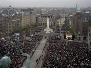 Celebrating liberation in Amsterdam