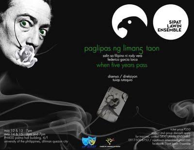 Paglipas ng Limang Taon, from Sipat Lawin Ensemble