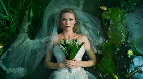 Kristen Dunst in Melancholia Photo Credit Christian Gesinaes