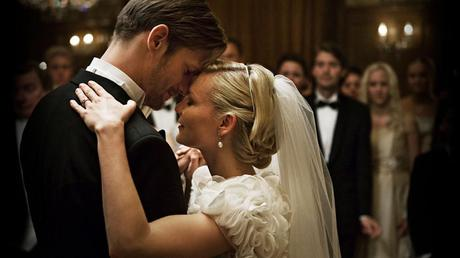 Alexander Skarsgard and Kristen Dunst in Melancholia Photo Credit Christian Gesinaes