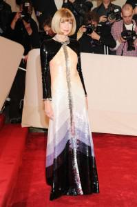 annawintour 199x300Top 11 Looks from the 2011 Met Costume Institute Gala