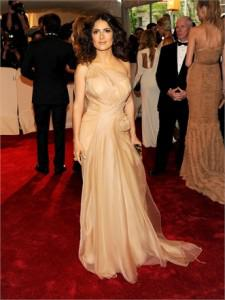 salma mcqueen 225x300Top 11 Looks from the 2011 Met Costume Institute Gala