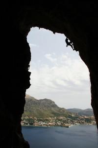 rock climbing Telendos