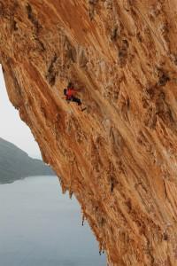 rock climbing Grande Grotta Kalymnos