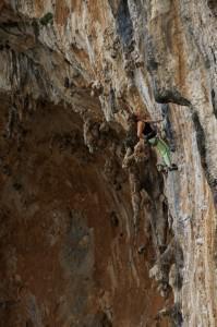 rock climbing Grande Grotta