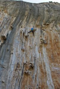 rock climbing Kalymnos