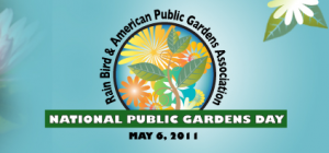 May 6th is National Public Gardens Day