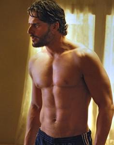 True Blood's Joe Manganiello as Alcide Herveaux