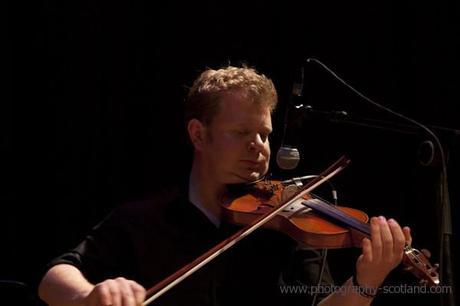 Photo - Alasdair White, fiddler with the Battlefield Band