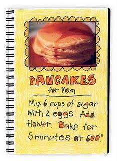 """Mother's Day """"Pancake Recipe"""""""