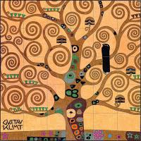 Klimt's Tree of Life Mural