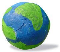 Paper Mache Earth