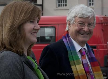Photo - Alison Johnstone & Robin Harper, Scottish Green Party