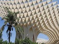 Metropol Parasol Largest Wooden Structure World