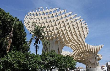 The Metropol Parasol - The Largest Wooden Structure In The World