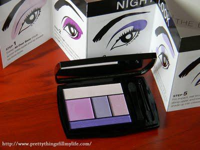 LANCOME New Eye Shadow - Color Design Eye Brightening All-in-one 5 Shadow and Liner in Amethyst Glam
