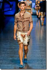 D&G Menswear Spring Summer 2012 Collection Photo 16